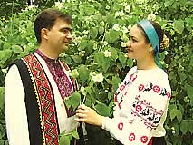 Ukrainian folk music ensemble Rushnichok